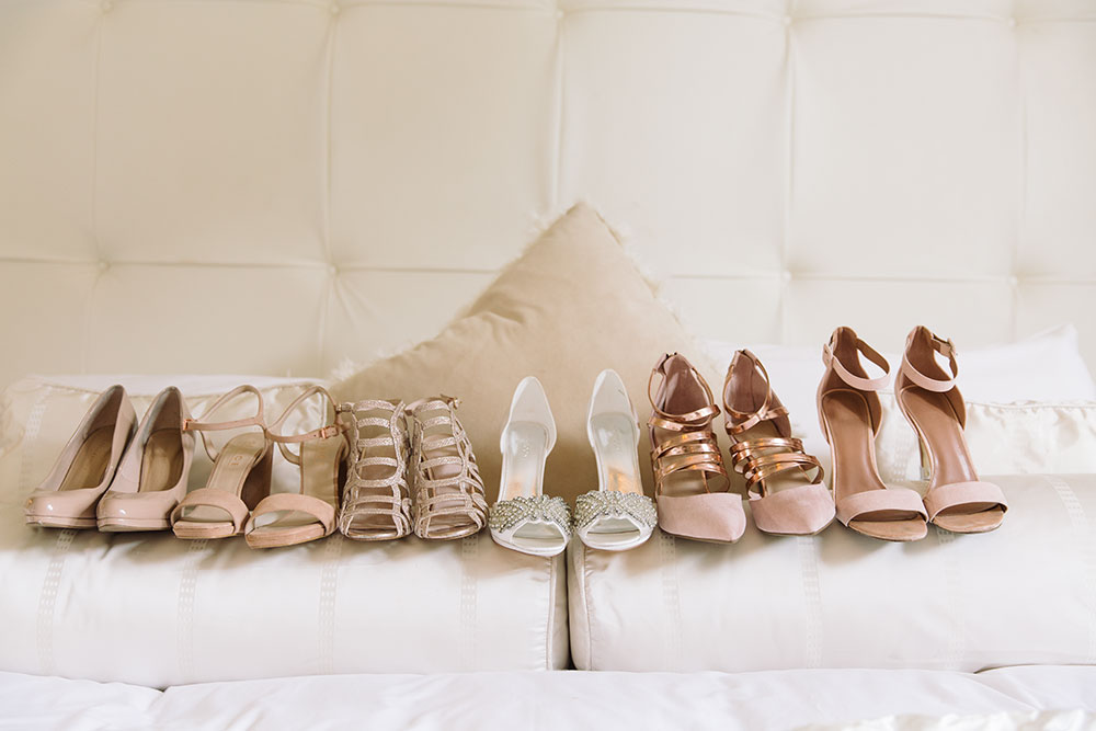 Wedding Party's Shoes