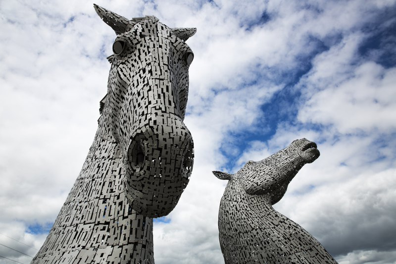 The Kelpies Monument Falkirk