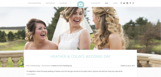 Feature in Your Perfect Wedding Photographer