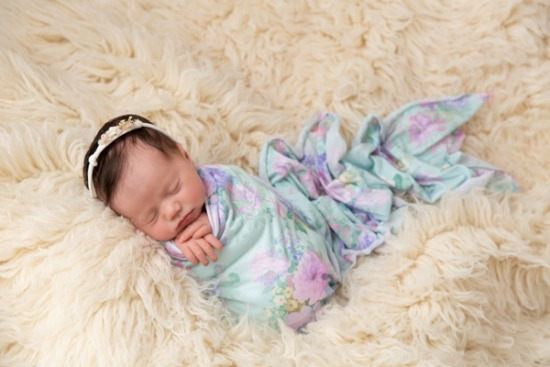 Glasgow Newborn Photographer - Baby Mila